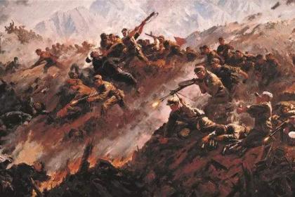 抗美援朝上甘岭战役 蒋介石放言无人是毛泽东的对手