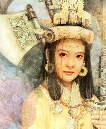 历史首位女将军,商朝名杰出的军事家,国王武丁的王妃妇好