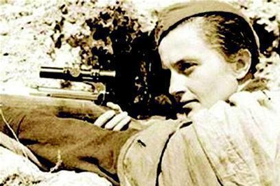 苏联女英雄、传奇神枪手帕夫利琴科独自阻击309名德军