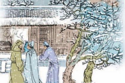 程门立雪的主人公是谁?关于程门立雪的故事