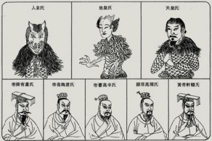 上古历史三皇五帝 关于三皇五帝的介绍