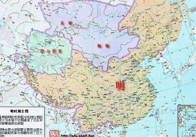 中国古代明朝地图 明朝的行政地图