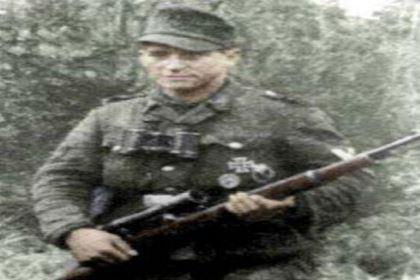 二战德国最出名的阻击手:约瑟夫·塞普·艾勒伯格