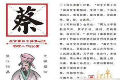 揭秘:蔡叔度与著名的三监之乱的故事
