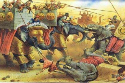 古代象兵的战斗力怎么样?他们有什么弱点?