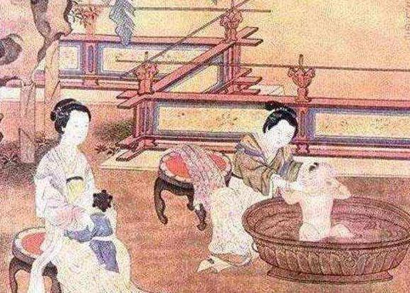 古代给满月孩子穿衣服的,为什么必须是姥姥