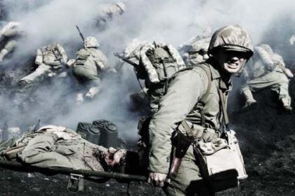 硫磺岛战役打得到底有多残酷 第一天的战斗中美军就消耗炮弹38550发