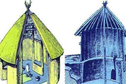 半坡人的住所有什么特点?他们的食物来源是什么