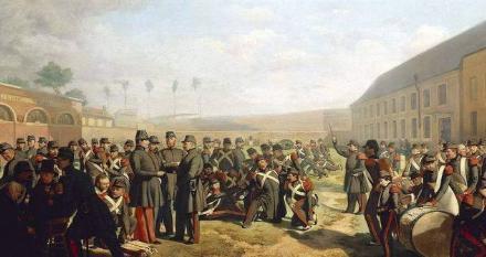 法国二月革命和巴黎六月起义相比有什么不同