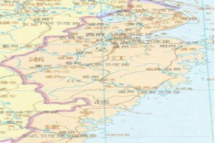 是五代十国时期的十国之一:吴越的发展史