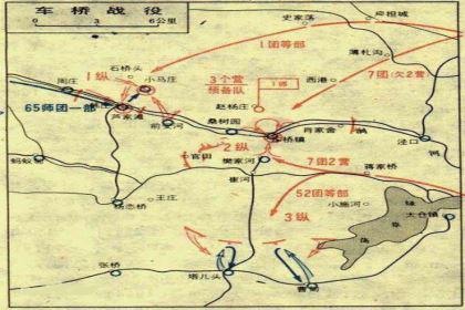 车桥战役简介 车桥战役的发生时间是在哪一年