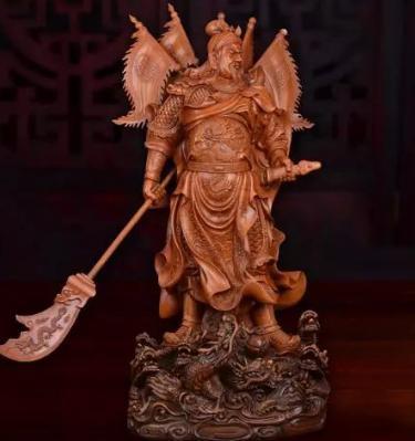五虎上将,此人死后也成神,比关羽管的宽,阴阳两界都能管 !