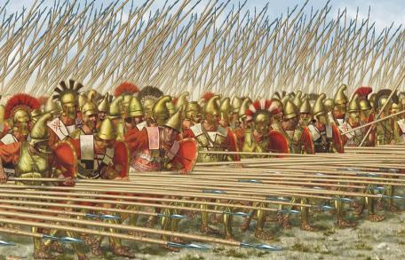 古代世界五大方阵中古罗马方阵排名垫底 秦军方阵排行令人吃惊