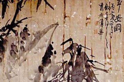 吴昌硕曾交代子孙家里一定要珍藏好蒲华的书画