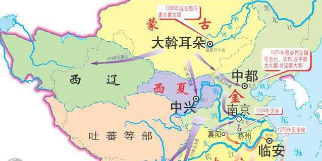 历史上由契丹族在新疆和中亚地区建立的政权:西辽的发展史
