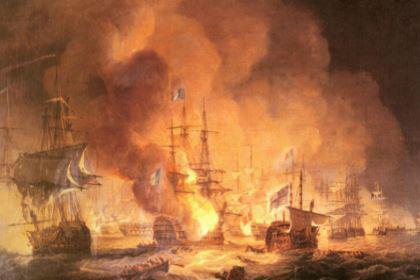 19世纪的风帆战列舰 我国也建造出一艘,效果很明显