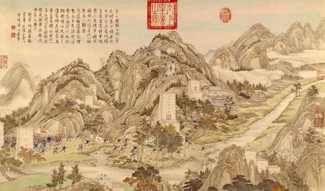 阿桂乾隆时期最厉害的武将,他去世前预言了什么?