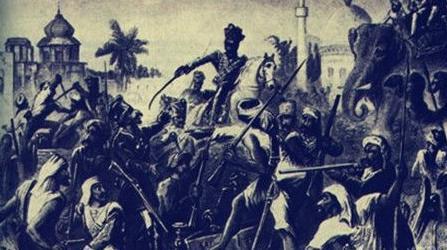 印度民族独立运动简介 该运动是在什么样的背景下发生的