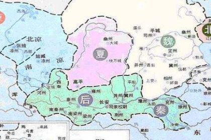 五胡十六国时期政权:后秦的建立