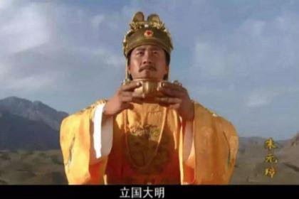 朱元璋宴请高僧。最后却被处死
