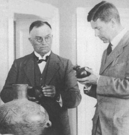 """安特生:瑞典地质学家、考古学家,被称为""""仰韶文化之父"""""""