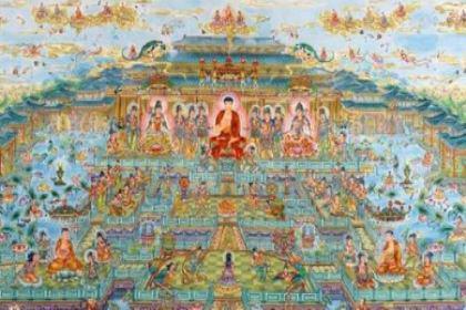 修行人拜佛为什么总要供奉西方三圣?西方三圣在佛教中的地位怎么样
