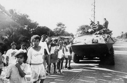 世界上结束最快的战争之一 历时15天的巴拿马战争