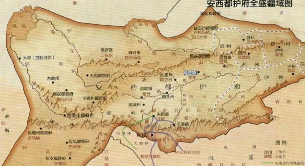 大唐帝国的西方前线:揭秘安西四镇的重要性