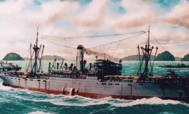 """舟山渔民冒死救下1800多名英国战俘 揭秘二战鲜为人知的""""里斯本丸沉没事件"""""""