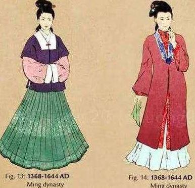 明代女性穿着上有什么选择?为什么酷爱上袄下裙