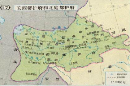 唐朝安西四镇之一的碎叶镇,是现在的什么地方?