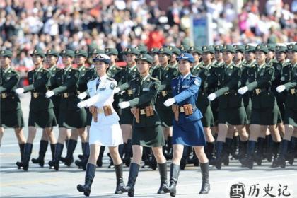 各国女兵方阵谁最美?盘点各国阅兵场