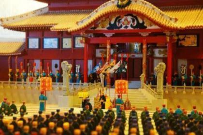琉球使者为何要给清朝太后服丧?琉球使者有什么目的?