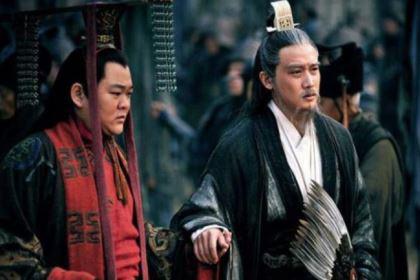 蜀国灭亡后,刘禅在门前写下了哪三个字?