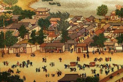 古代下馆子是什么样的 单单小小的饭馆就有那么多人伺候