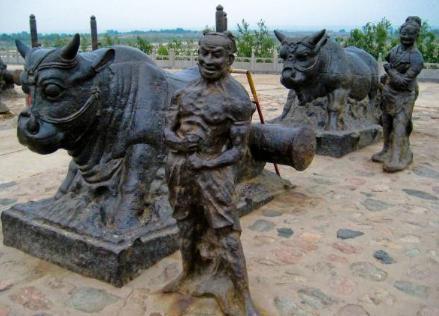 黄河铁牛经历1300年 依旧完好无损