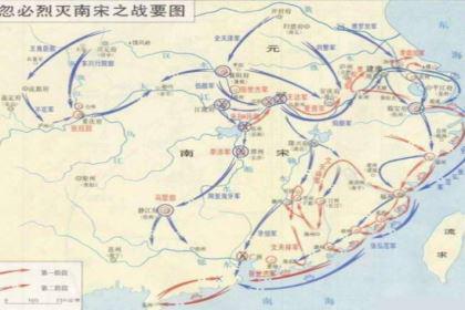 元朝名将张弘范,忽必烈灭宋之战的主要指挥者,崖山海战灭亡南宋