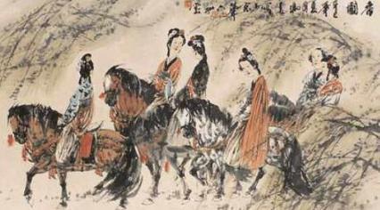 唐朝的女生大致有三种娱乐方式 分别是哪三种