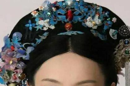 清朝宫廷女子往头上戴如此重的旗头,难道她们不累吗?