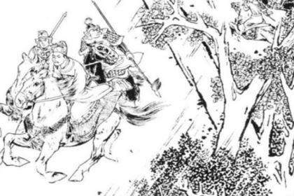 赵匡胤被杨业追杀的时候是怎么逃走的?