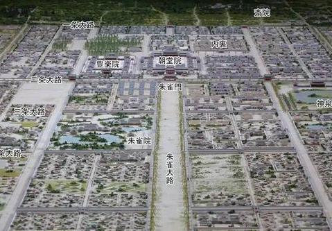 揭秘唐朝长安街道到底多大 光主干道朱雀大街的宽度达到150多米