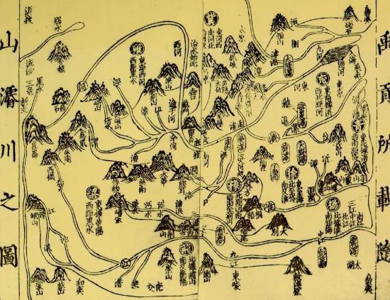 中国古代没有卫星,是怎么画地图的!