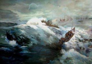 白江口之战的经过是怎么样的?白江口之战有什么影响?