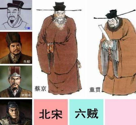 """北宋""""四大奸臣""""是谁 他们的分别是什么结局"""