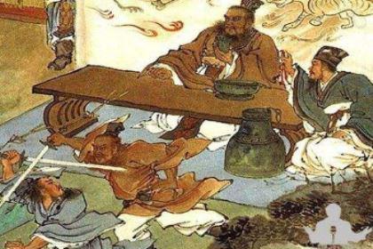 """五王宴杨坚:""""山寨版""""的鸿门宴!"""