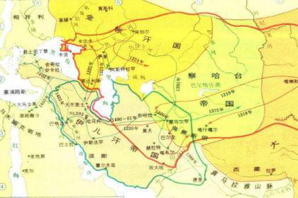 金帐汗国:13世纪上半叶蒙古人建立的封建国家