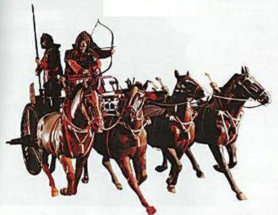 古代战车作为冲锋的利器 为什么最后会消失在历史上呢
