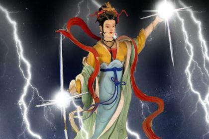 中国神话传说中雷公的妻子金光圣母简介