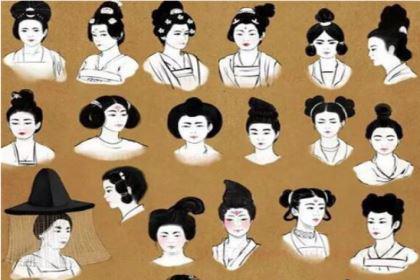 古代女子发型多样,没有发胶是怎么固定的呢?
