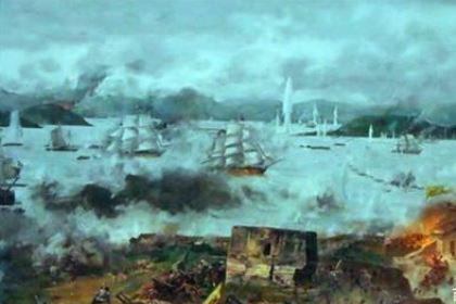 虎门之战——国门第一次被西方列强打开